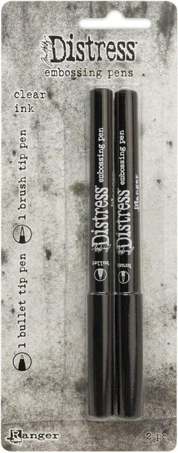 Tim Holtz® Distress Embossing Pen Clear, 2pk