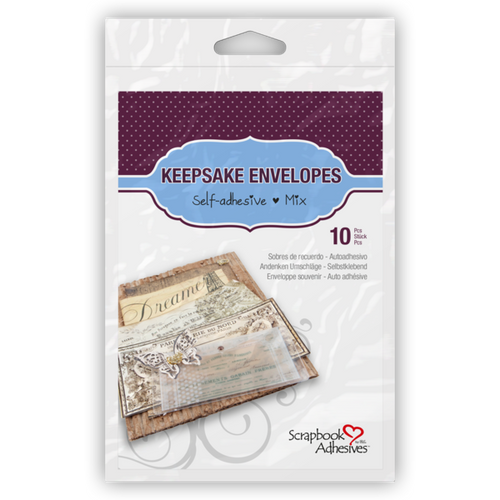 Keepsake Envelopes Permanent Transparent