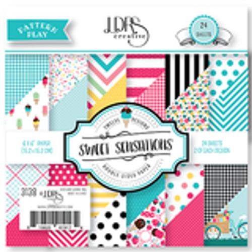 "LDRS Sweet Sensations 6"" x 6"" Paper"
