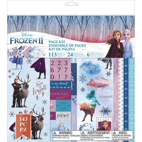 EK Success Disney Frozen II Page Kit