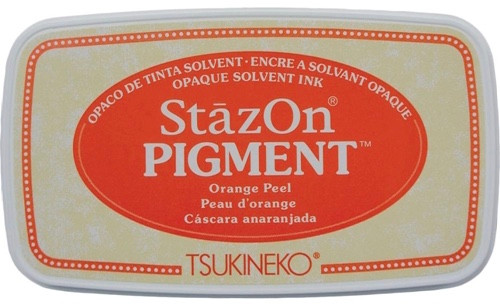 Tsukineko StazOn Pigment Orange Peel Ink Pad
