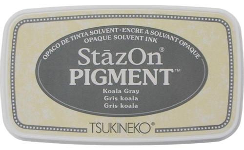 Tsukineko StazOn Pigment Koala Gray Ink Pad