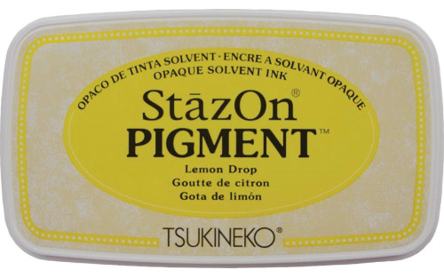 Tsukineko StazOn Pigment Lemon Drop Ink Pad