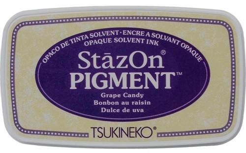 Tsukineko StazOn Pigment Grape Candy Ink Pad
