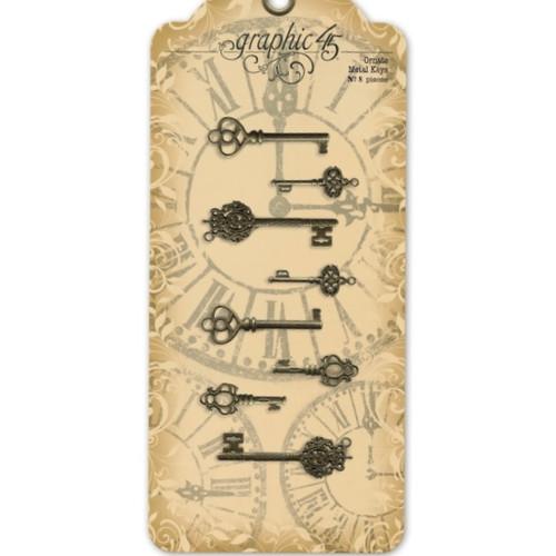 Graphic 45 Ornate Metal Keys