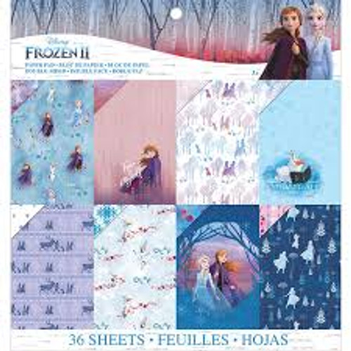 "EK Success Disney Frozen II 12"" x 12"" Paper Pad"