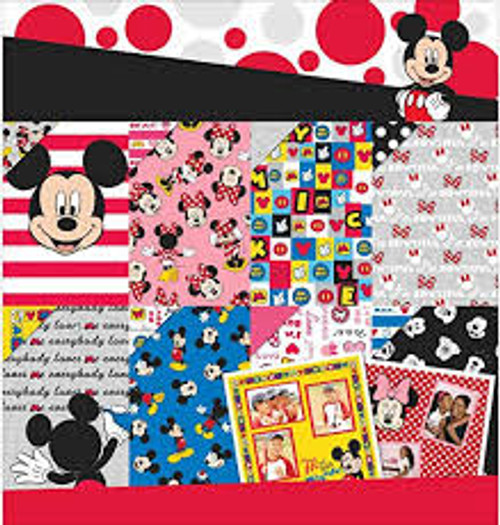 "EK Success Disney Mickey Mouse & Friends 12"" x 12"" Paper Pad"