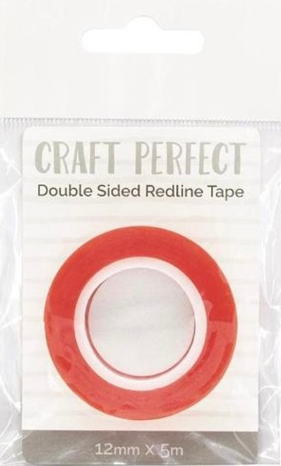Craft Perfect Double Sided Redline Tape 12mm x 5m