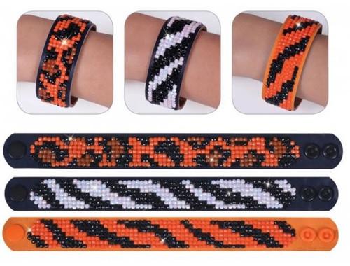 Diamond Dotz Animal Print Bracelets