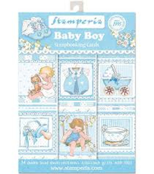 Stamperia Baby Boy Scrapbooking Cards