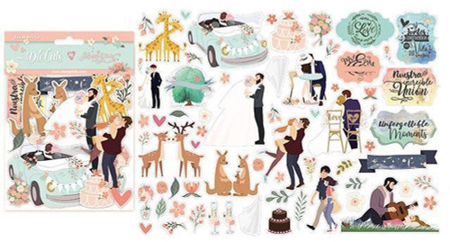Stamperia Love Story by Johanna Rivero Die Cuts