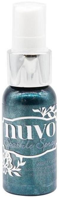 Nuvo Sparkle Spray Peacock Plume