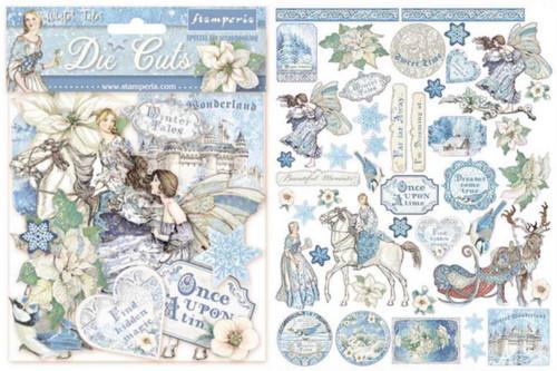 Stamperia Winter Tales Die Cuts