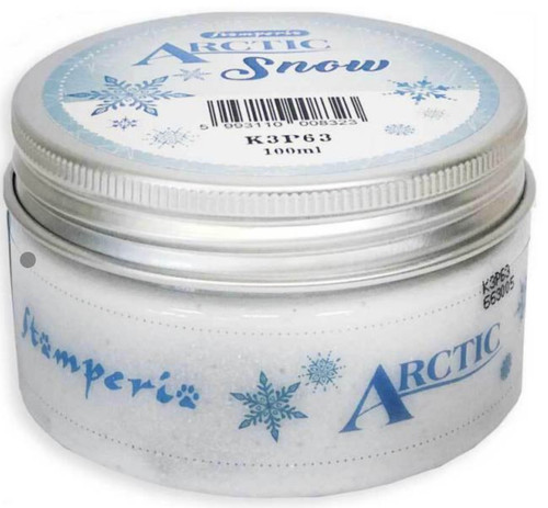 Stamperia Arctic Snow - White