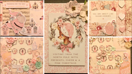 """Kreative Kreations """"Sugar Cookie Christmas"""" 2-Page Layout with Bonus 3 Cards"""