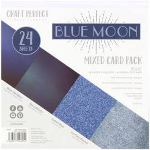 Tonic Craft Perfect Blue Moon 6 x 6 Mixed Card Pack