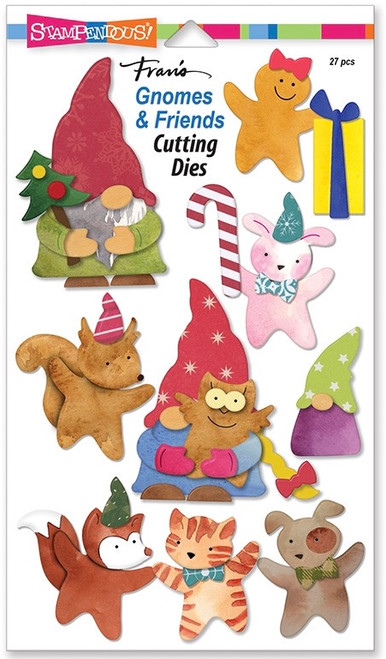 Stampendous Gnomes and Friends Die Set