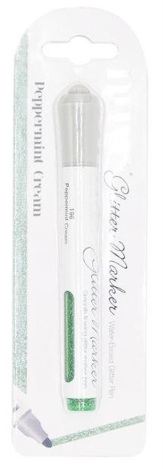 Nuvo Glitter Marker Peppermint Cream