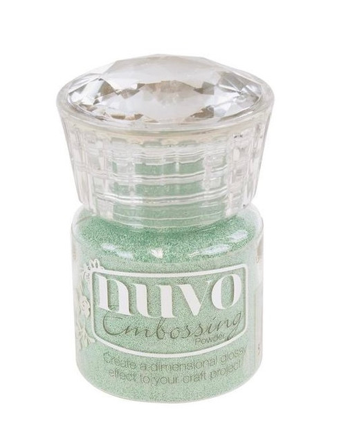 Nuvo Glitter Embossing Powder Pearled Pistachio