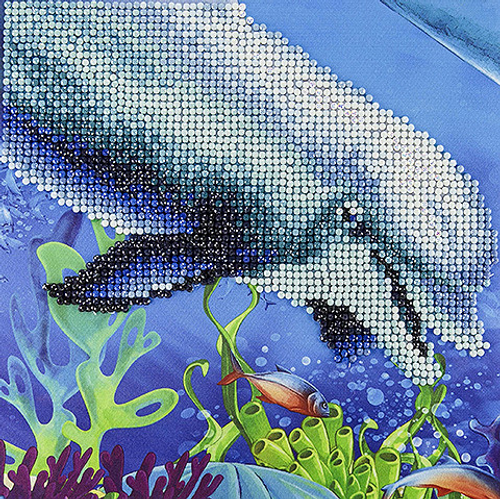 Diamond Art Diamond Dotz Dolphin