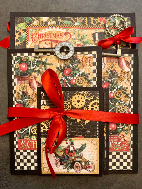 Graphic 45 *Exclusive Kit* Christmas Time - Accordion Album