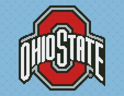Diamond Dotz Ohio State Logo
