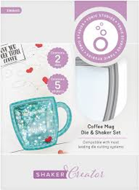 Tonic Shaker Creator Coffee Mug  Die and Shaker Set