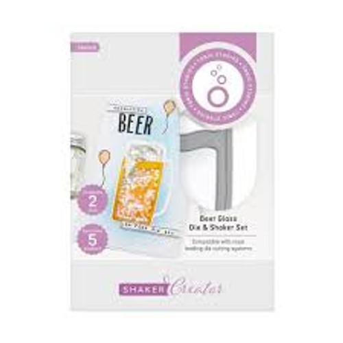 Tonic Shaker Creator Beer Glass Die and Shaker Set