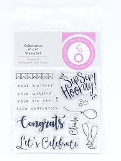 Tonic Shaker Creator Celebration Stamp Set