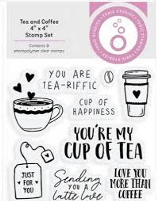 Tonic Shaker Creator Tea and Coffee Stamp Set
