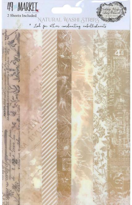 49 and Market Vintage Artistry Natural Washi Tape