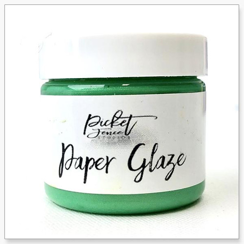 Picket Fence Studios Paper Glaze Leaf Green