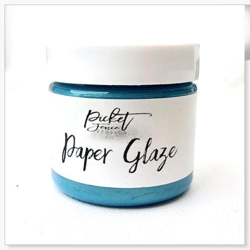 Picket Fence Studios Paper Glaze Ocean Poppy