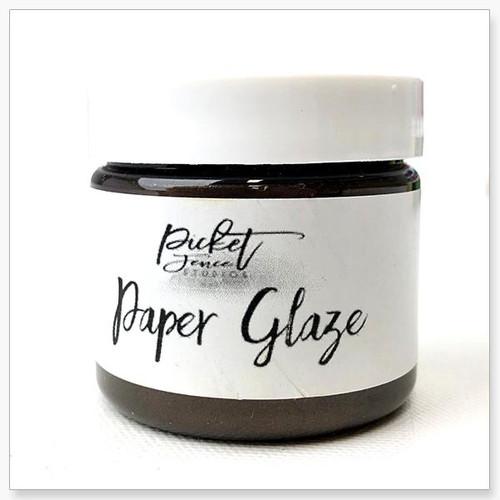 Picket Fence Studios Paper Glaze Brown Dahlia