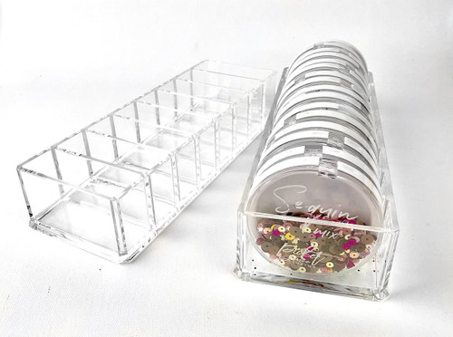 Picket Fence Studios Sequin Storage Display Case