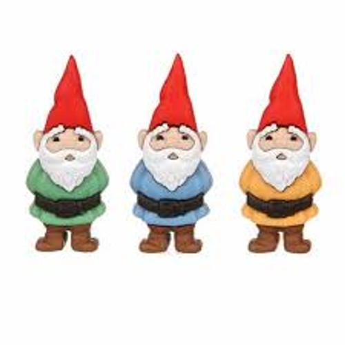 Dress It Up Embellishments Garden Gnomes