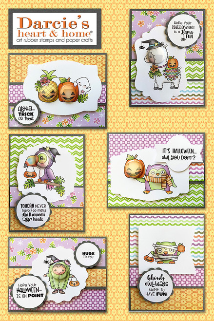 Darcie's Heart & Home Halloween Card Kit