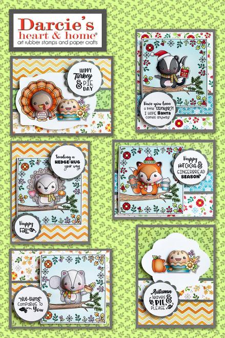 Darcie's Heart & Home Happy Fall Card Kit