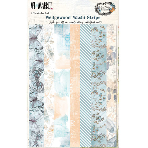 49 and Market Vintage Artistry Wedgewood Washi Strips