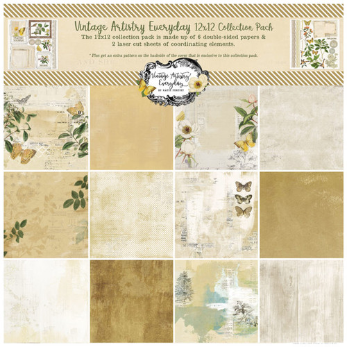 49 and Market Vintage Artistry Everyday 12 x 12  Collection Pack