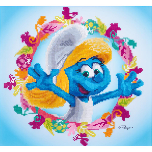 Vervaco Diamond Painting The Smurfs Smurfette