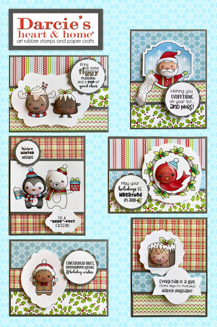Darcie's Heart & Home Christmas Holiday Card Kit