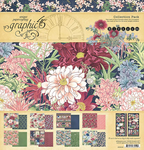 Graphic 45 Blossom Collection Pack 12 x 12