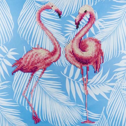 Diamond Art Diamond Dotz Flamingo Duo