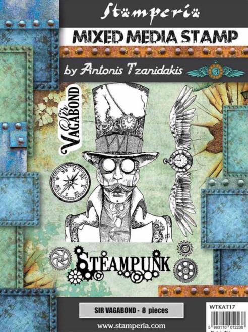 Stamperia Stamp Sir Vagabond Steampunk