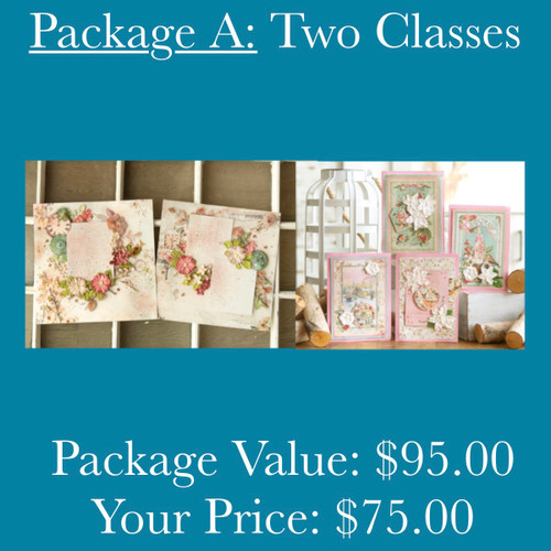 Package A: Two Classes (Treasured + Cheerful)