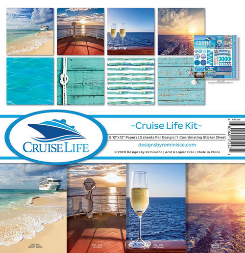 Reminisce Cruise Life Kit Paper Pack