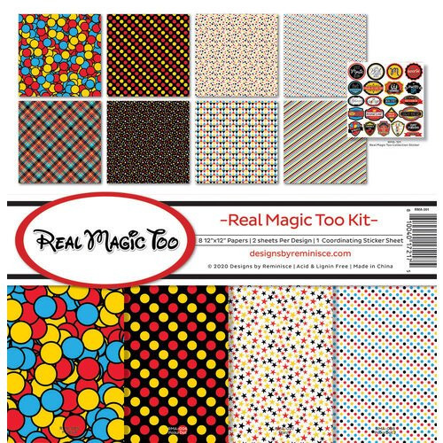 Reminisce Real Magic Too Kit Paper Pack