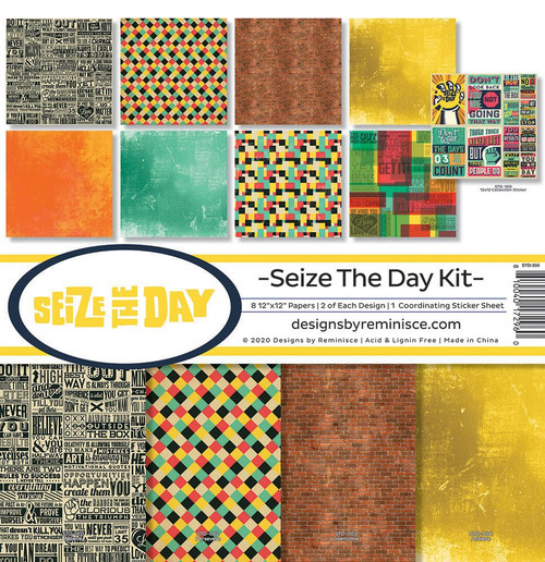 Reminisce Sieze The Day Kit Paper Pack