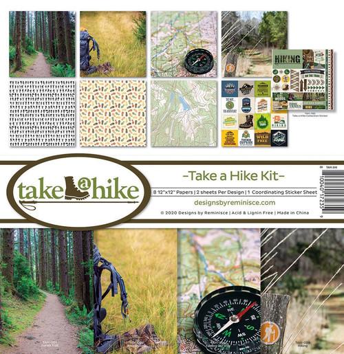 Reminisce Take A Hike Kit Paper Pack